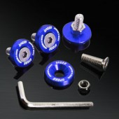 Blue 10MM 4 Pieces Fender Washer Kit