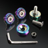Neo Chrome 10MM 4 Pieces Fender Washer Kit