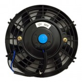 Upgr8 Universal High Performance 12V Slim Electric Cooling Radiator Fan With Fan Mounting Kit (7 Inch, Black) …