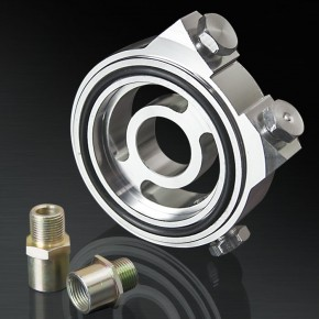 Subaru Toyota Nissan Oil cooler adapter Thermostat filter sandwich plate 3//4