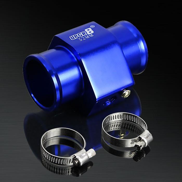 32MM Blue Water Temperature Sensor Adapter