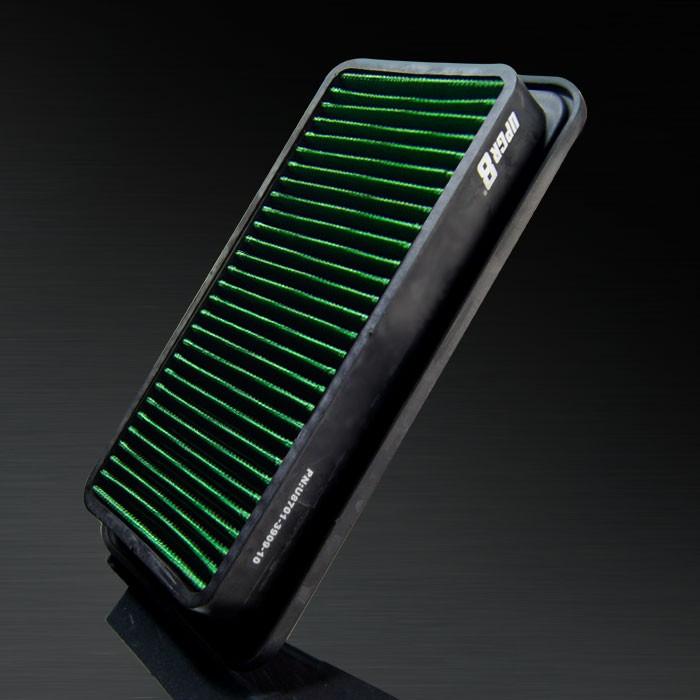 2004-2007 Lotus Elise HD PRO OEM Replacement High Performance Green/Black Drop-In Panel Air Filter