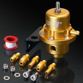 Universal Matt Gold Adjustable Fuel Pressure Regulator