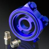 Honda/ Acura/ Subaru/ Mitsubishi/ Mazda/ Ford/ Nissan/ Toyota/ Suzuki Blue Oil Filter Sandwich Plate Adapter Kit