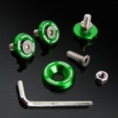 Green 10MM 4 Pieces Fender Washer Kit