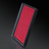 2009 Audi A4 Cabriolet 2.0L L4 F/I HD PRO OEM Replacement High Performance Red/Black Drop-In Panel Air Filter