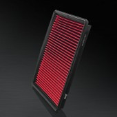 2006-2008 Jeep Grand Cherokee III 6.1L V8 F/I HD PRO OEM Replacement High Performance Red/Black Drop-In Panel Air Filter