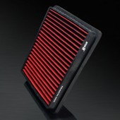 2003-2008 Mitsubishi Lancer 1.3L/1.6L L4 HD PRO OEM Replacement High Performance Red/Black Drop-In Panel Air Filter