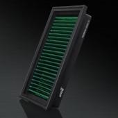 2007-2012 Nissan Versa 1.8L L4 F/I HD PRO OEM Replacement High Performance Green/Black Drop-In Panel Air Filter