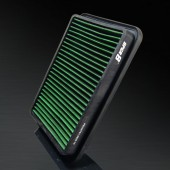 1986-1987 Mazda 626 II 2.0L L4 HD PRO OEM Replacement High Performance Green/Black Drop-In Panel Air Filter