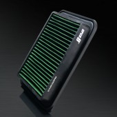 2007-2011 Toyota Yaris 1.8L L4 HD PRO OEM Replacement High Performance Green/Black Drop-In Panel Air Filter