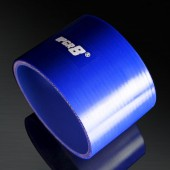 Universal 4-PLY 4.0'' High Performance Blue Straight Coupler Silicone Hose 76MM Length
