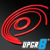 Universal 4MM/6MM/8MM/12MM Inner Diameter High Performance Red Vacuum Silicone Hose Kit