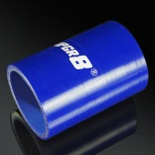 Universal 4-PLY 1.75'' High Performance Blue Straight Coupler Silicone Hose 76MM Length