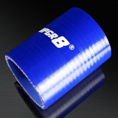Universal 4-PLY 2.0'' High Performance Blue Straight Coupler Silicone Hose 76MM Length