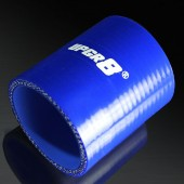 Universal 4-PLY 2.25'' High Performance Blue Straight Coupler Silicone Hose 76MM Length