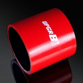 Universal 4-PLY 2.75'' High Performance Red Straight Coupler Silicone Hose 76MM Length