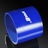 Universal 4-PLY 3.25'' High Performance Blue Straight Coupler Silicone Hose 76MM Length