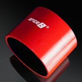 Universal 4-PLY 3.5'' High Performance Red Straight Coupler Silicone Hose 76MM Length