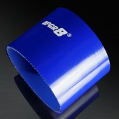 Universal 4-PLY 3.5'' High Performance Blue Straight Coupler Silicone Hose 76MM Length