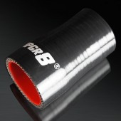 "Universal 4-PLY 1.25'' to 1.5"" High Performance Black Reducer Coupler Silicone Hose"