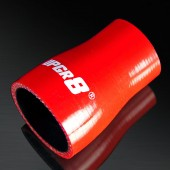 "Universal 4-PLY 1.25'' to 1.75"" High Performance Red Reducer Coupler Silicone Hose"