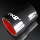 "Universal 4-PLY 1.5'' to 2.0"" High Performance Black Reducer Coupler Silicone Hose"