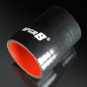 "Universal 4-PLY 2.0'' to 2.25"" High Performance Black Reducer Coupler Silicone Hose"