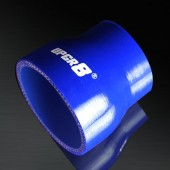"Universal 4-PLY 2.25'' to 3.0"" High Performance Blue Reducer Coupler Silicone Hose"