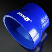 "Universal 4-PLY 3.0'' to 4.0"" High Performance Blue Reducer Coupler Silicone Hose"