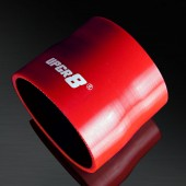 """Universal 4-PLY 3.0'' to 3.25"""" High Performance Red Reducer Coupler Silicone Hose"""