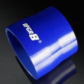 """Universal 4-PLY 3.0'' to 3.25"""" High Performance Blue Reducer Coupler Silicone Hose"""