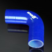 "Universal 4-PLY 1.5"" High Performance Blue 90 Degree Coupler Silicone Hose"