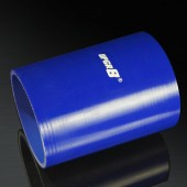 Universal 4-PLY 4.0'' High Performance Blue Straight Coupler Silicone Hose 152MM Length