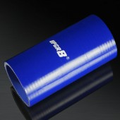 Universal 4-PLY 2.5'' High Performance Blue Straight Coupler Silicone Hose 152MM Length