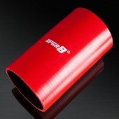 Universal 4-PLY 3.0'' High Performance Red Straight Coupler Silicone Hose 152MM Length