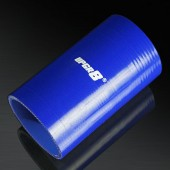 Universal 4-PLY 3.0'' High Performance Blue Straight Coupler Silicone Hose 152MM Length