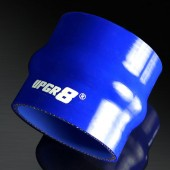 Universal 4-PLY 3.0'' High Performance Blue Hump Coupler Silicone Hose