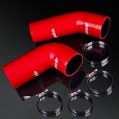 93-02 Mazda RX-7 FD3S 13B-REW S6/S7/S8 High Performance 4-PLY Red Turbo Silicone Hose Kit