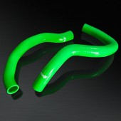 89-94 Nissan 240SX S13 KA24/KA24DE High Performance 4-PLY Green Radiator Silicone Hose Kit