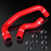 99-02 Skyline GT-R BNR34 RB26DETT High Performance 4-PLY Red Radiator Silicone Hose Kit
